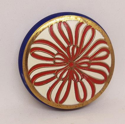 Richard Hudnut Red Ribbon Powder Compact