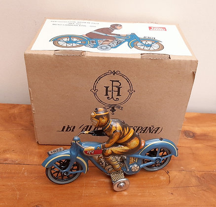 PAYA Ltd Edt Repro Tin Plate Litho Motorcycle
