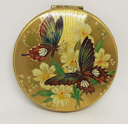 Kigu Powder CompactSwallowtail Butterflies