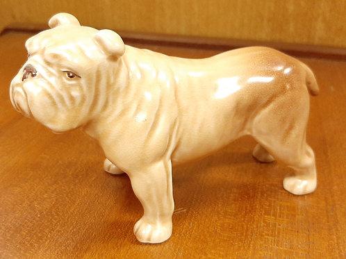 SylvaC Bulldog Figurine 155 Beige & Brown