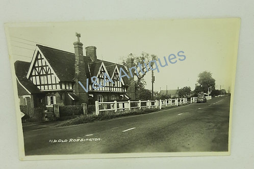 Arjay RP Postcard Old Rossington Doncaster