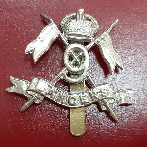 British Army 9th Lancers Cap Badge