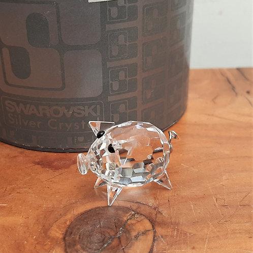 Swarovski Crystal Mini Pig Wire Tail 010028