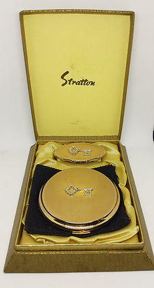 Stratton 1960s Compact & Lipview Boxed 21st Birthday Key