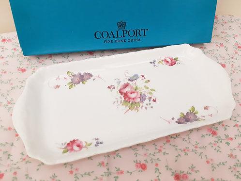 Coalport Shrewsbury Sandwich Tray Boxed