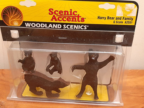 Woodland Scenic G Scale A2551 Harry Bear