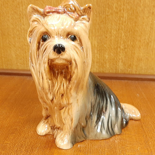 SylvaC Yorkshire Terrier 5027 Pink Bow