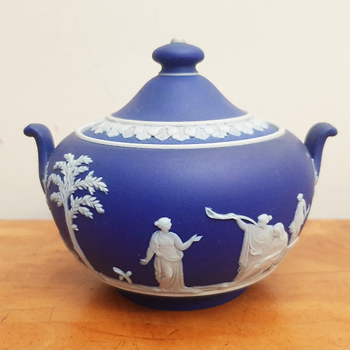Early 20thC Wedgwood Portland Dip 146 Sugar Bowl