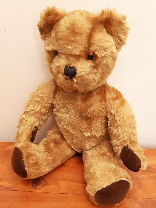 1950s Pedigree Golden Mohair Teddy Bear Growler & Bells