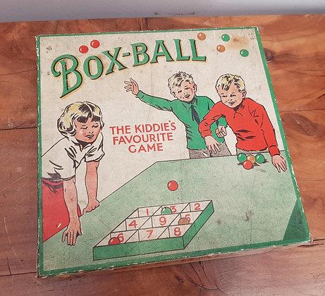 1930's Box-Ball Game