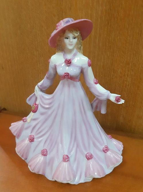 Coalport Figurine Classic Elegance Many Happy Returns