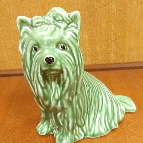 "Vintage ""SylvaC"" Style Yorkshire Terrier 5027 Green Matt"