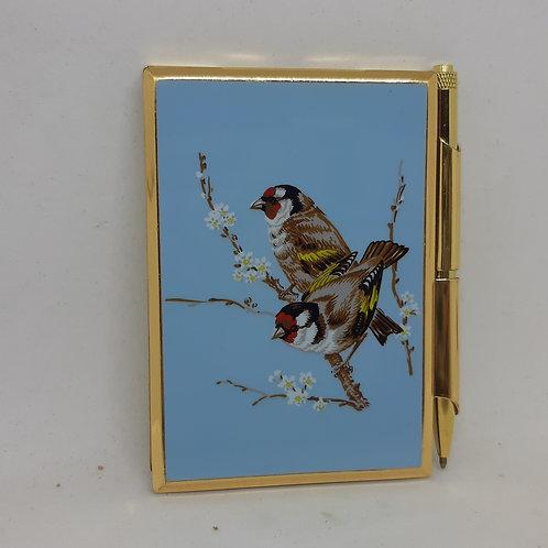 Stratton Handbag Notebook & Pen Goldfinch