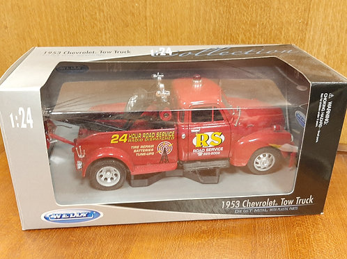 Welly 1:24 Scale 1953 Chevrolet Tow Truck Boxed