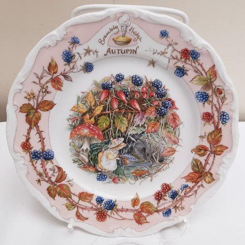 Royal Doulton Brambly Hedge Autumn Tea Plate