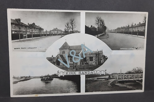 Kirk Sandall Multiview Postcard