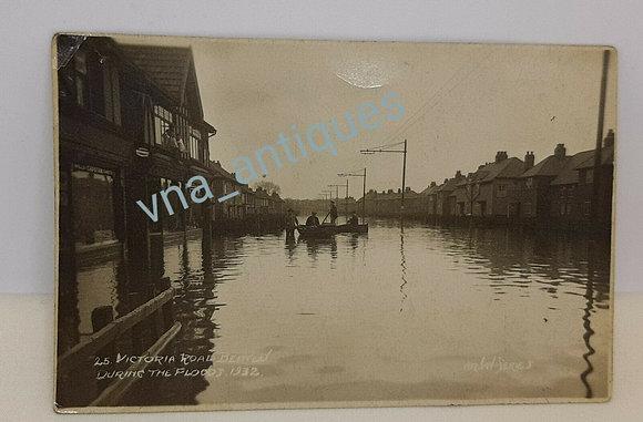 Doncaster Floods 1932 Victoria Road Bentley  Arjay