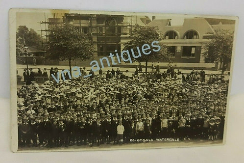 RP Postcard Co-op Gala Waterdale Doncaster 1910