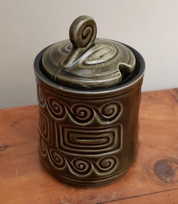 """SylvaC Jam/Preserve Jar """"TOTEM"""" 3982"""