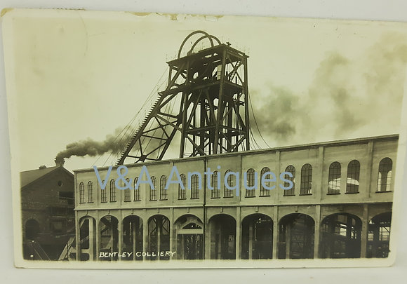 Bentley Colliery Doncaster RP Regina Posted 1913