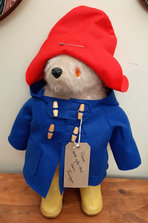 1972 Gabrielle Paddington Bear
