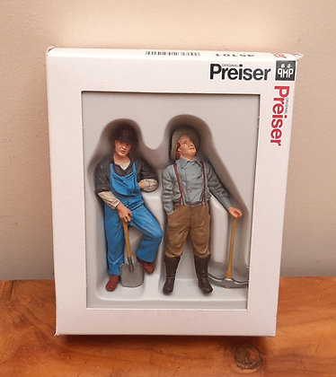 Preiser 45101 Track Workers c1900 G Scale