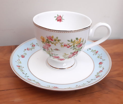 Gracie Bone China Tea cup & saucer Meditation