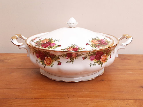 Royal Albert Old Country Roses Covered Tureen 1st