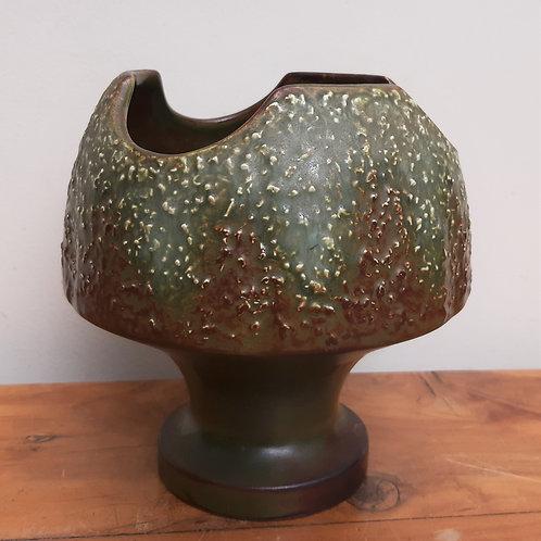 Funky!! SylvaC Mushroom Vase 4935 Earthy Tones