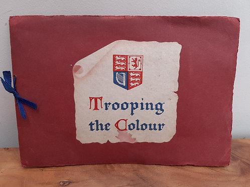 Trooping the Colour Tucks Oilette 6 Postcard Album