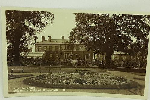 Art Gallery Beechfield Park Doncaster RP 1930