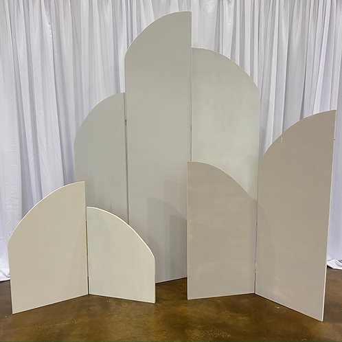 3pc Wooden Panel Backdrop