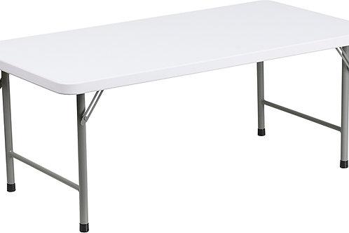 4' Adjustable height (Kid) table