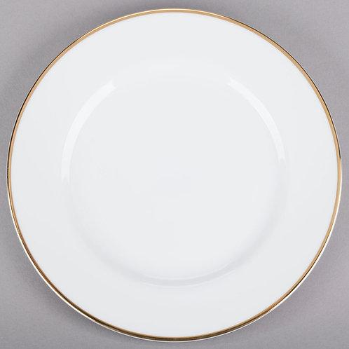 Gold Trimmed Salad/Dessert Plate