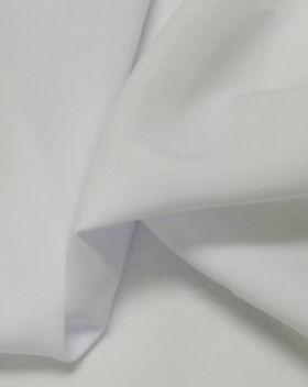 White polyester linen
