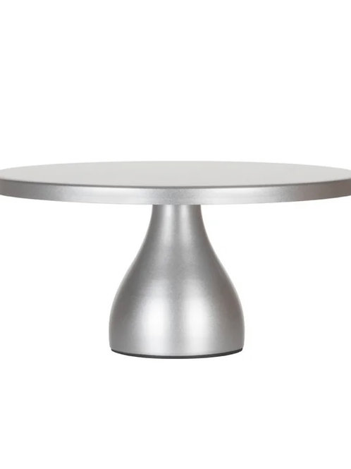 12in silver pedestal cake stand