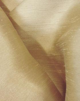 Bone Dupioni Linen