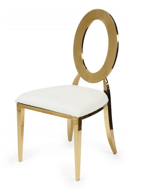 Gold Cartier Chair