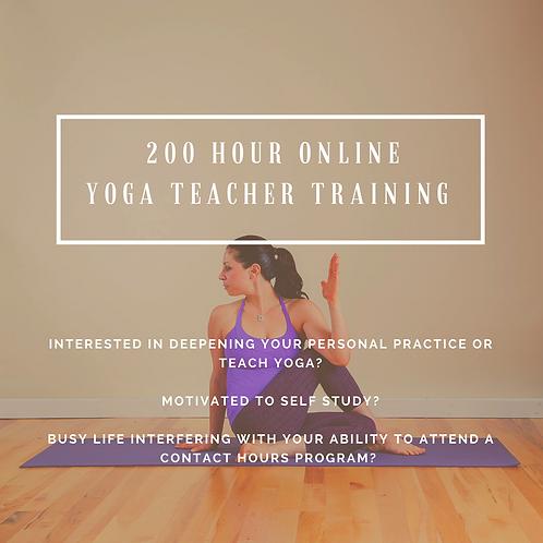 Certified Yoga Teacher Training Online