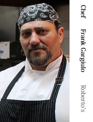 Frank Gargiulo   Chef