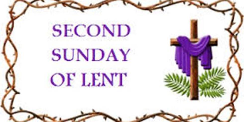 Worship 2nd Sunday of Lent