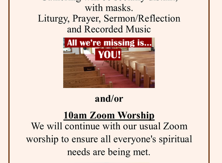 Chapel and Online Worship
