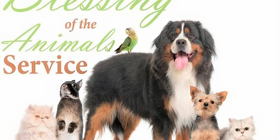 Worship Service and Blessing of the Animals