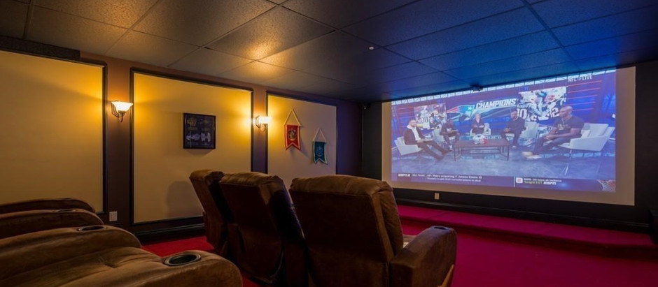 TOP 5 LISTINGS WITH OSCAR WINNING HOME THEATER ROOMS
