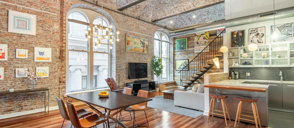 TOP 5 LOFT STYLE LISTINGS IN CENTER CITY