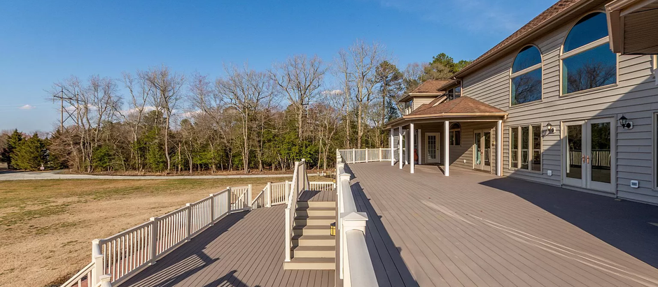 TOP 5 HOMES IN THE SALISBURY AREA WITH DECKS