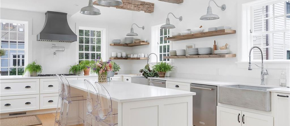 TOP 5 LISTINGS WITH IMMACULATE CHEF'S KITCHENS