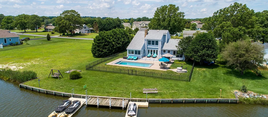 TOP 5 WATERFRONT HOMES IN SUSSEX COUNTY DELAWARE