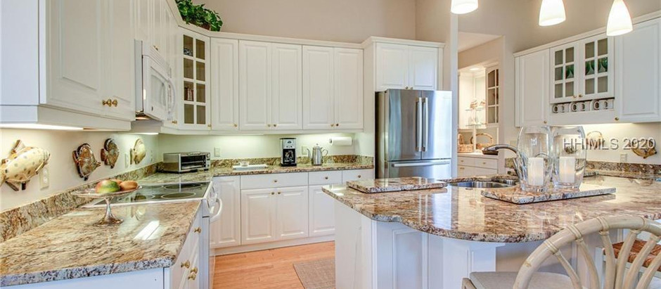 TOP 5 NEW HILTON HEAD LISTINGS UNDER $1 MILLION WITH LOVELY KITCHENS