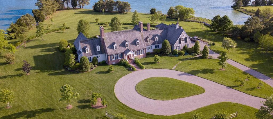 TOP 5 HOMES IN HISTORIC TOWN OF OXFORD, MARYLAND